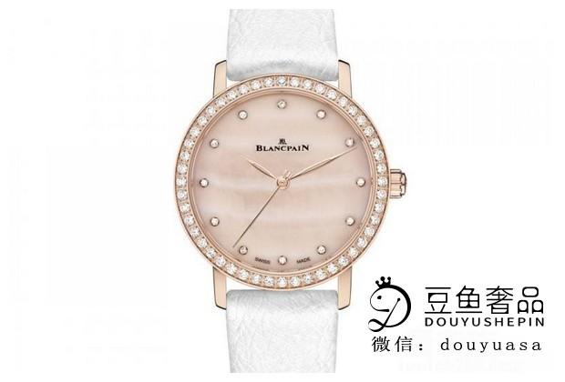 宝珀女士镶钻手表回收的价格是多少?上