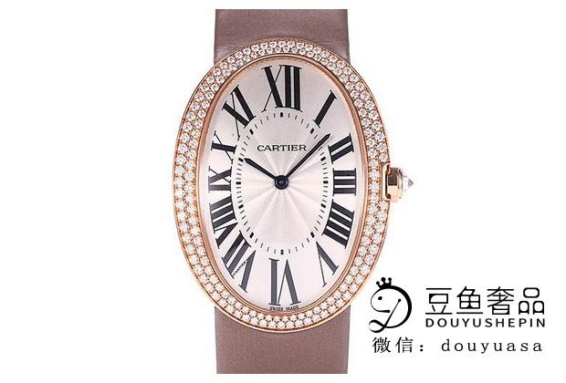 卡地亚浴缸系列手表带钻和不带钻的回收