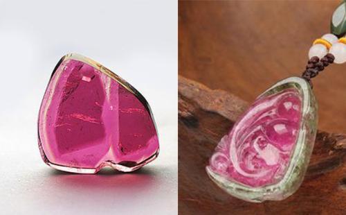 怎么区分红宝石和碧玺呢?