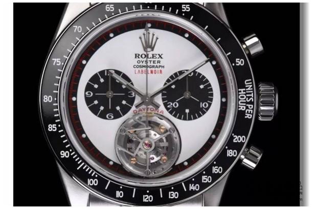 你看过劳力士保罗纽曼代托纳的陀飞轮手表吗?