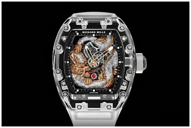 潘玮柏跨年表演精彩,手上5000万超狂理查德米勒RM57-03 Tourbillon Sapphire Dragon手表